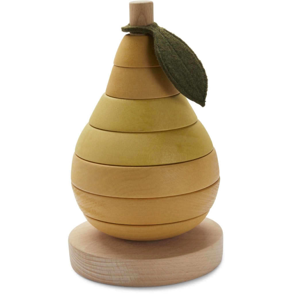 Konges Sløjd ApS STACKING FRUIT WOODEN TOYS PEAR