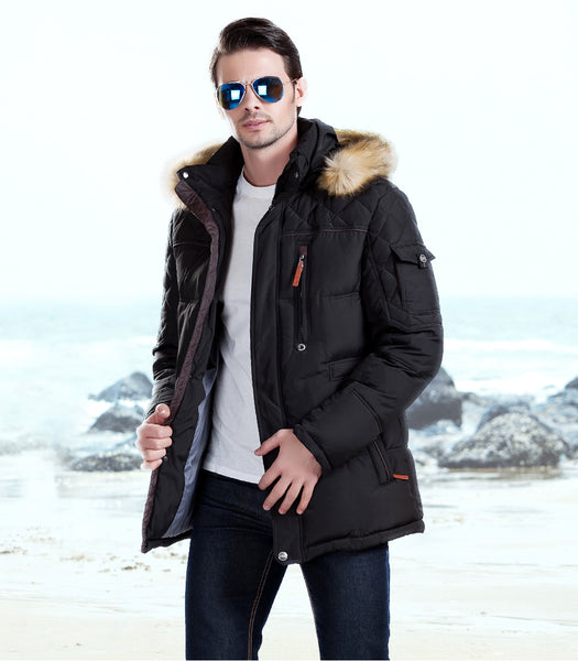 Medium-Long Thick Parka - JSEJ Styles