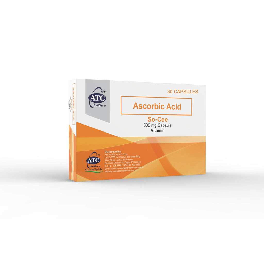 ATC So-Cee Vitamin C (Ascorbic Acid) 500mg