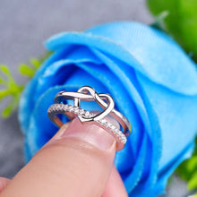 Romantic Hearty 925 Sterling Silver Ring - JSEJ Styles