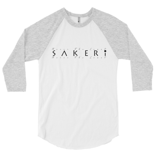 Sakeri® - Never The Least 3/4 Sleeve