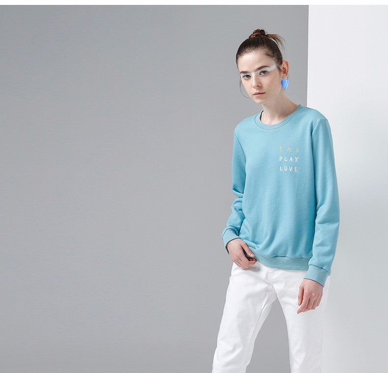 Long Sleeve Casual O-Neck Sweatshirt - JSEJ Styles