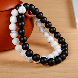 2Pcs/Set Couple Bead Bracelet - JSEJ Styles