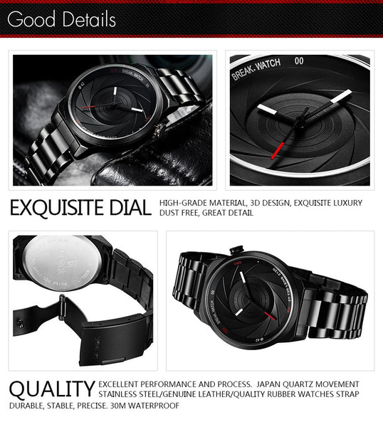 The Photographer Series® Watch - JSEJ Styles