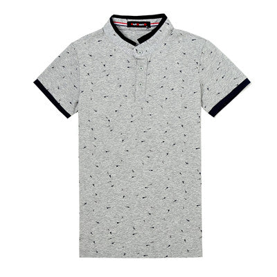 Printed Guitar Polo Shirt - JSEJ Styles