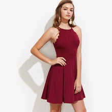 Flare Pleated Dress - JSEJ Styles