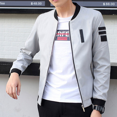 Casual Slim Fit Jacket - JSEJ Styles