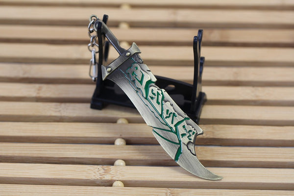 Bunny Girl Riven's Weapon Keychain - JSEJ Styles
