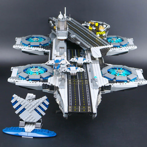 The S.H.I.E.L.D Heli-Carrier Building Blocks - JSEJ Styles