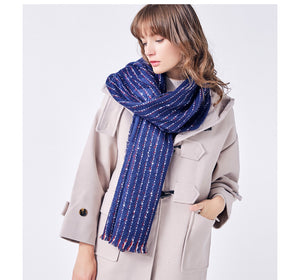 Fashion Stripe Scarf - JSEJ Styles