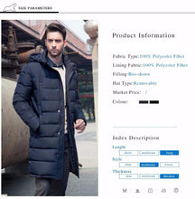 Long Thick Winter Coat - JSEJ Styles