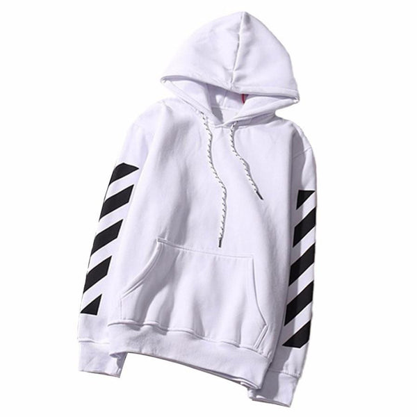 Black & White Stripe Sweatshirt - JSEJ Styles