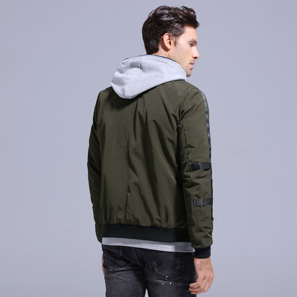 Casual Bomber Jacket - JSEJ Styles