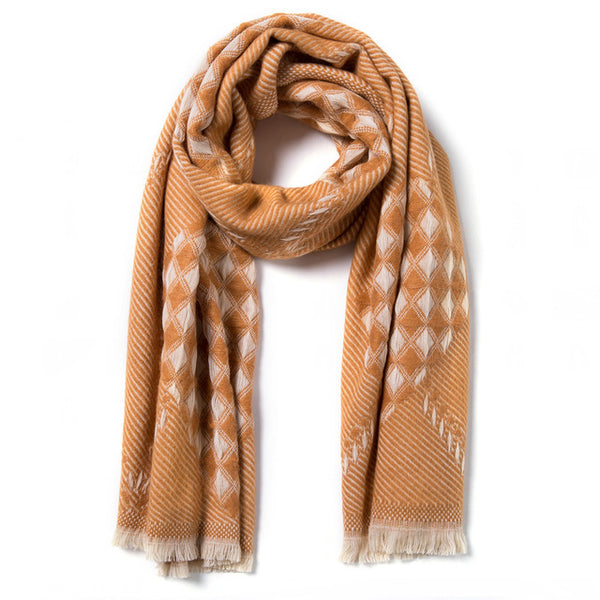Thick Warm Wrap up Scarf - JSEJ Styles