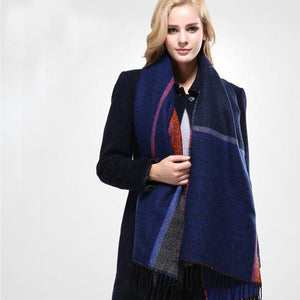Stylish Warm Blanket Scarf - JSEJ Styles
