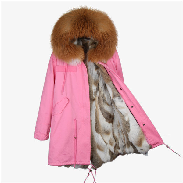 Fur Jacket Coat #EA001 - JSEJ Styles