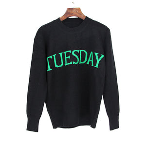 Knitted Day Thick Sweater - JSEJ Styles