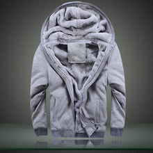 Solid Thick Wool Hoodie - JSEJ Styles