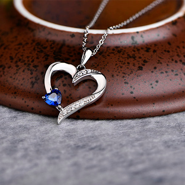 The Glamorous Heart 925 Sterling Silver - JSEJ Styles