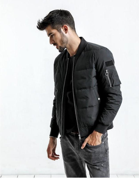 Brave Wolf Slim Winter Jacket - JSEJ Styles