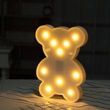 LED Lamp Love Children's Night Light - JSEJ Styles