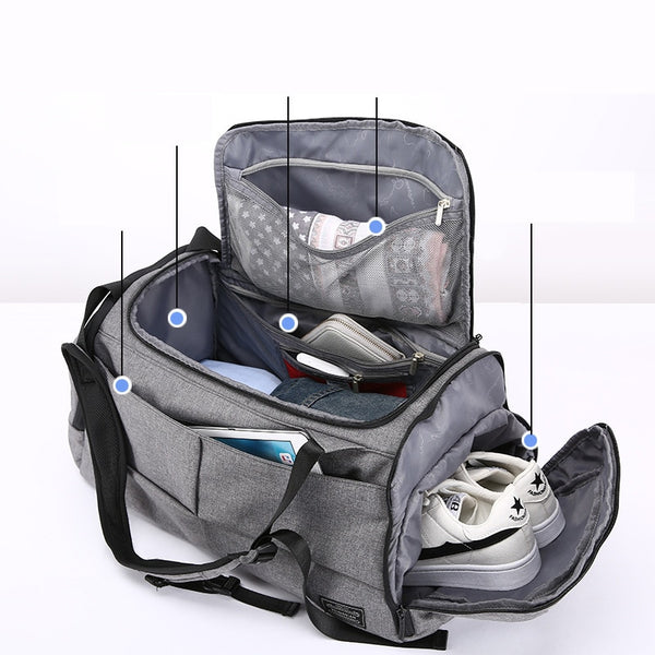 "Sport Fitness ""Salutary"" Anti-Theft Backpack - JSEJ Styles"