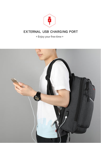 TGN® USB Charging Carry Backpack - JSEJ Styles