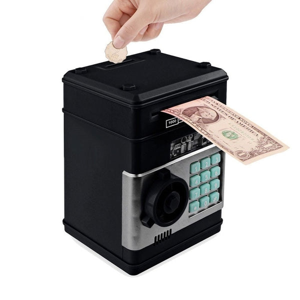 Electronic Bank ATM Password Money Cash Box - JSEJ Styles