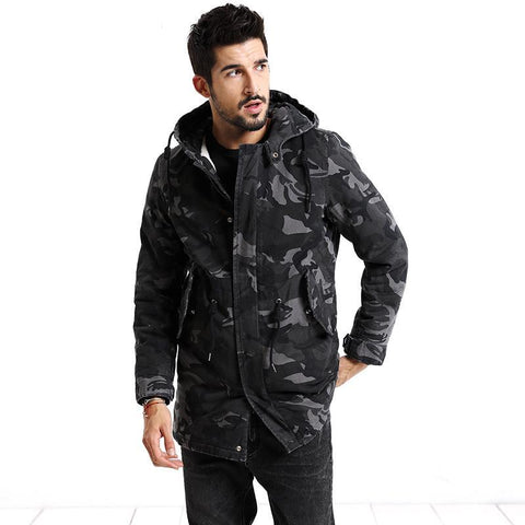 Arctic Camouflage Winter Jacket/Parka