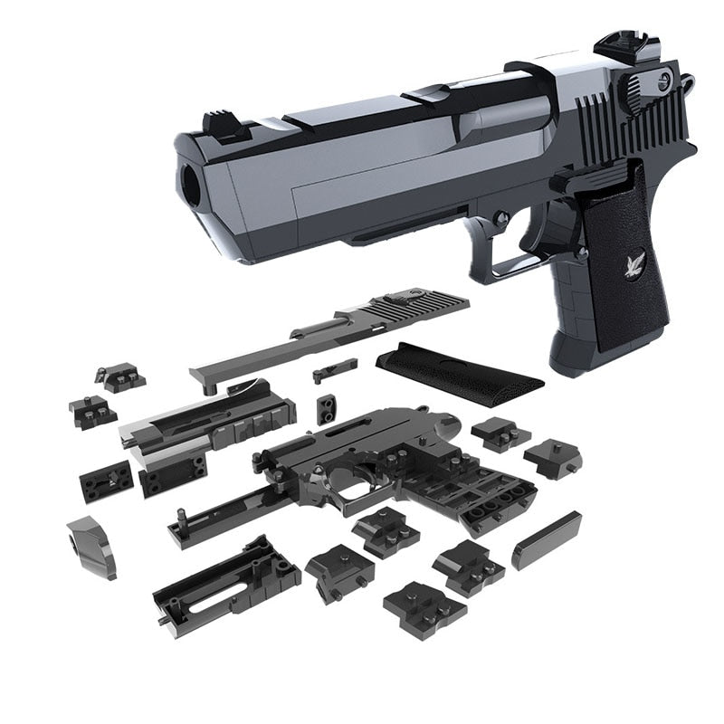 Desert Eagle Toy Gun DIY Building Blocks - JSEJ Styles
