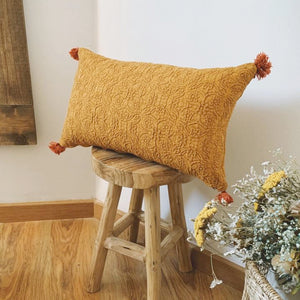 Elie Fringed Cushion