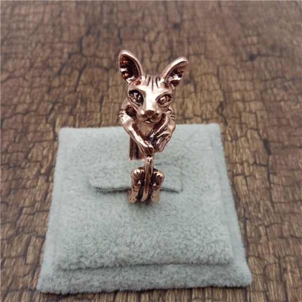 Sphynx Ring in 4 colors