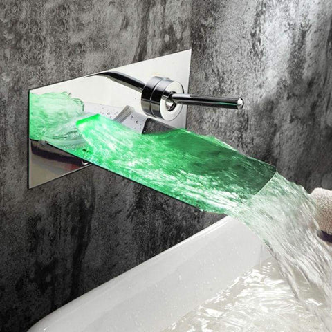 Basin LED Green Blue Red Automatic Color Change E-BestMall.com