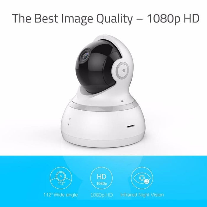 1080P Dome Camera Experience 360° Panoramic View in Hight - Quality Resolution - Surveillance Cameras