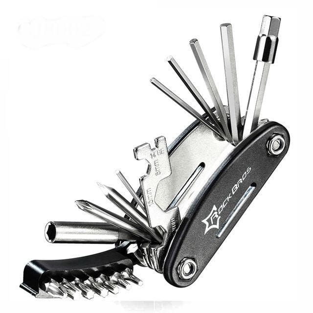 16 in 1 Multi-function Bicycle Repair Tool - GJ8002 - Bicycle Repair Tools