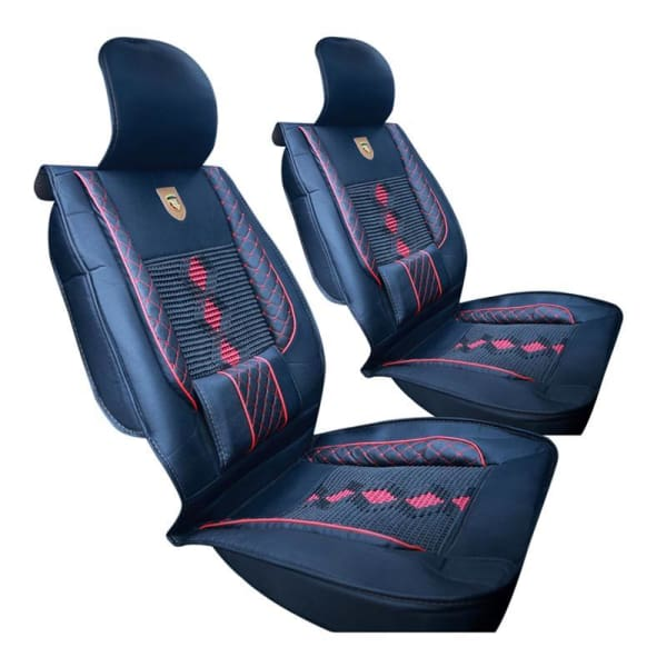 1PC Breathable Car Seat Cover - Leather - Automobiles Seat Covers