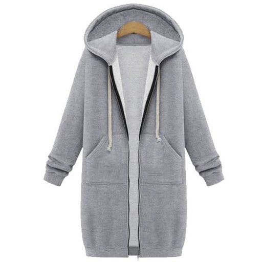 2018 Women Hoodies Sweatshirt large - Gray / S - Hoodies & sweatshirts