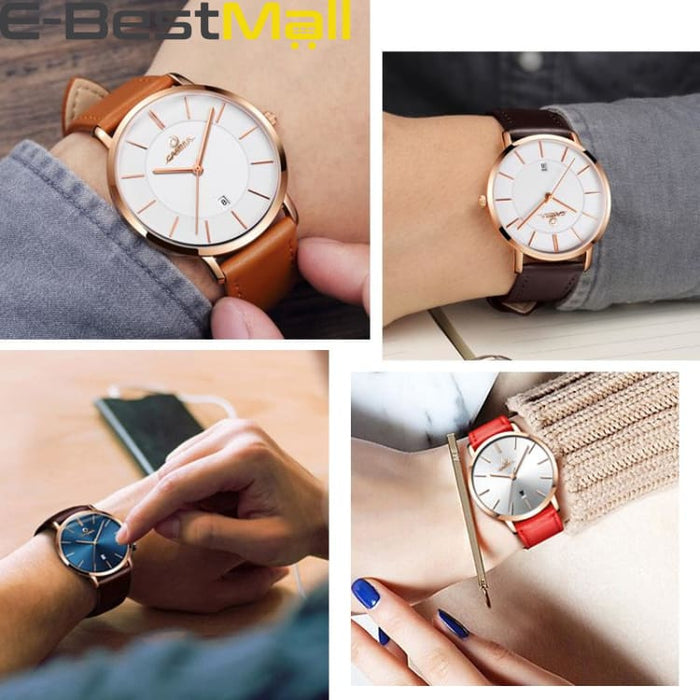 2019 New Watche for Men and Women Waterproof Quartz - Luxury watche