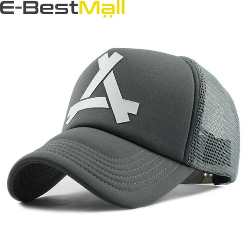 2019 Stylish Cap For Men - Gray / Adjustable - Baseball Cap