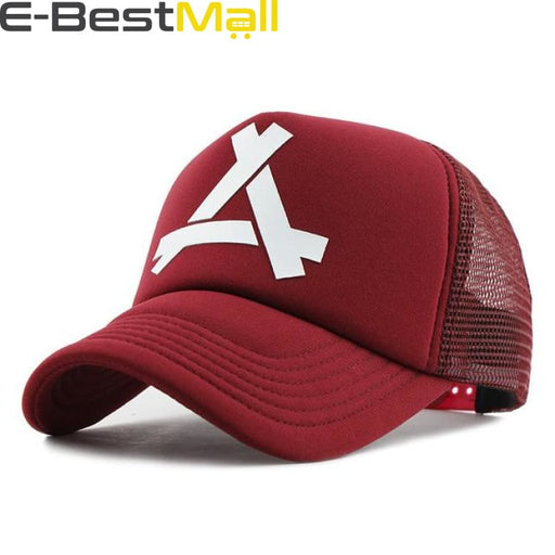 2019 Stylish Cap For Men - Red / Adjustable - Baseball Cap
