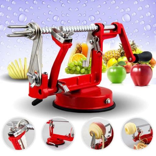 3 in 1 Stainless Steel Fruit and Vegetable Peeling Machine - Peeler & Zester