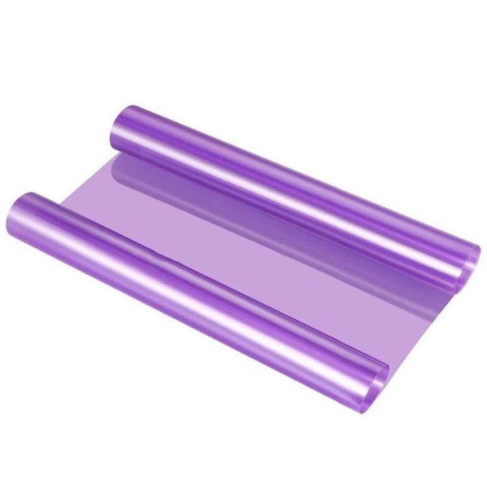 30*120cm Car Smoke Fog Light Headlight Taillight Tint Vinyl - Purple - Car Stickers