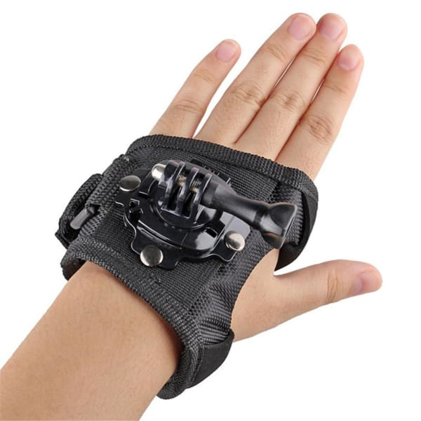 360 Rotatable Wrist Strap Band Hand Adapter Mount for SJCAM SJ4000 SJ5000 - Sport Camcorder Case