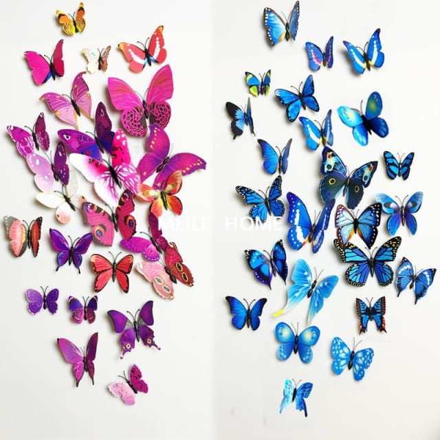 3D Butterfly Wall Sticker Home Decoration - Wall sticker