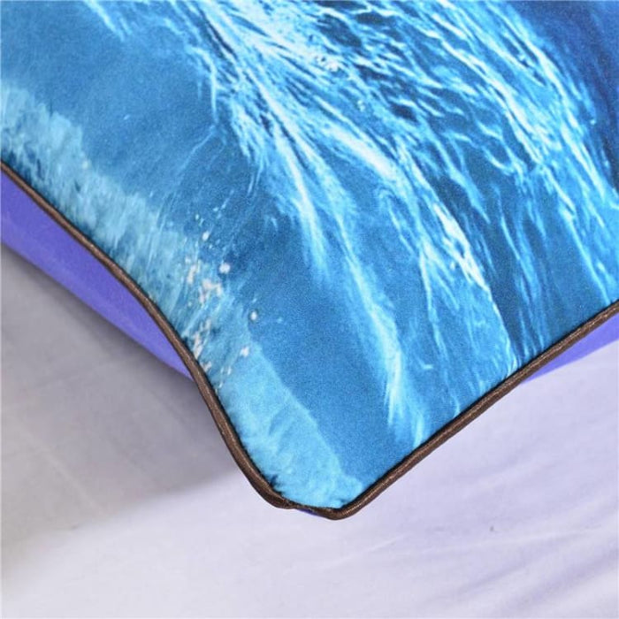3D Pillow Case - Moon And Ocean - Pillow Case