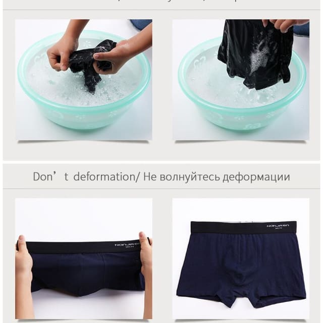 4Pcs\lot Mens Boxers - Boxers