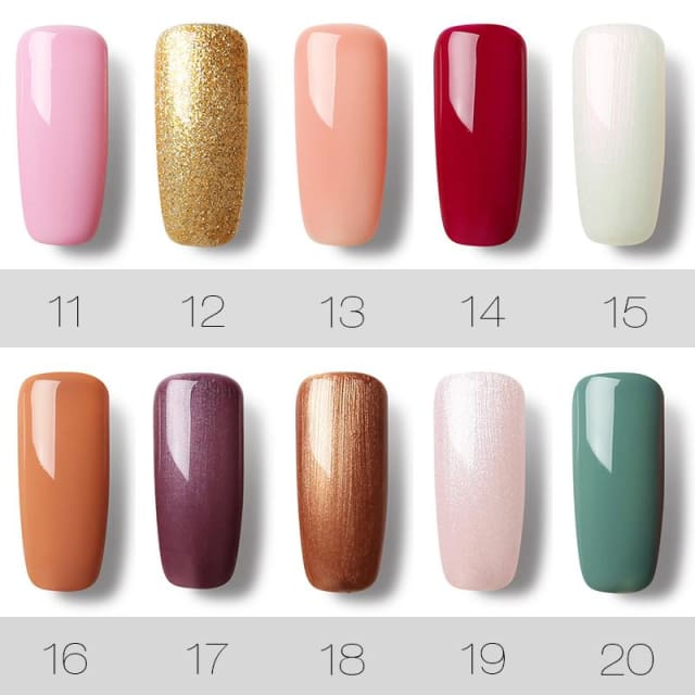 7ml Soak Off UV Gel Nail Polish - Nail Gel