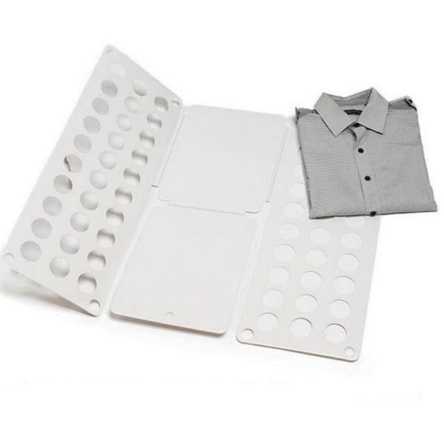 Adjustable Plastic Folding Board for Clothing/T-shirt/Shirt/sweaters/etc - Clothes Folder