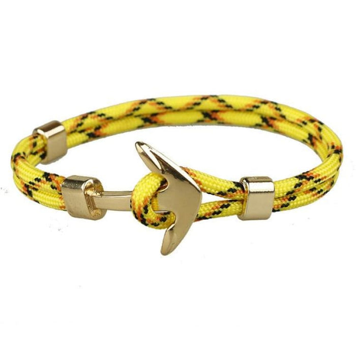 Anchor Bracelet Golden Hooks - Yellow - Bracelet