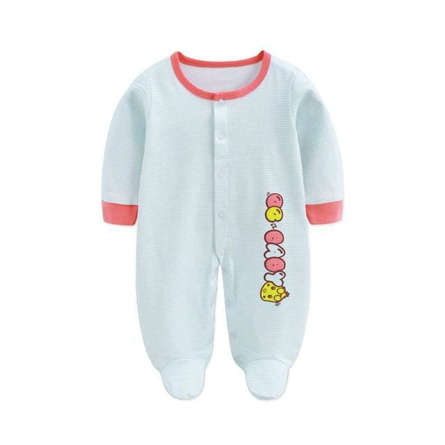 Animals Baby Boy Rompers For Newborns - Rompers